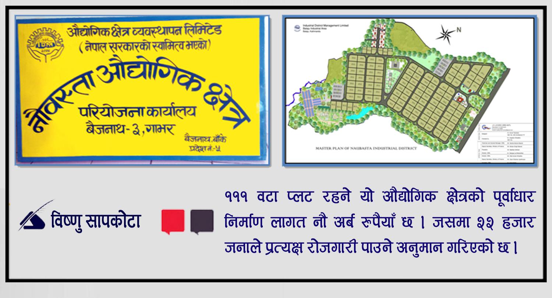 बैजनाथको गौरव 'नौबस्ता औद्योगिक क्षेत्र'