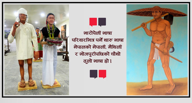 थारु जातिको संस्कृति र इतिहास