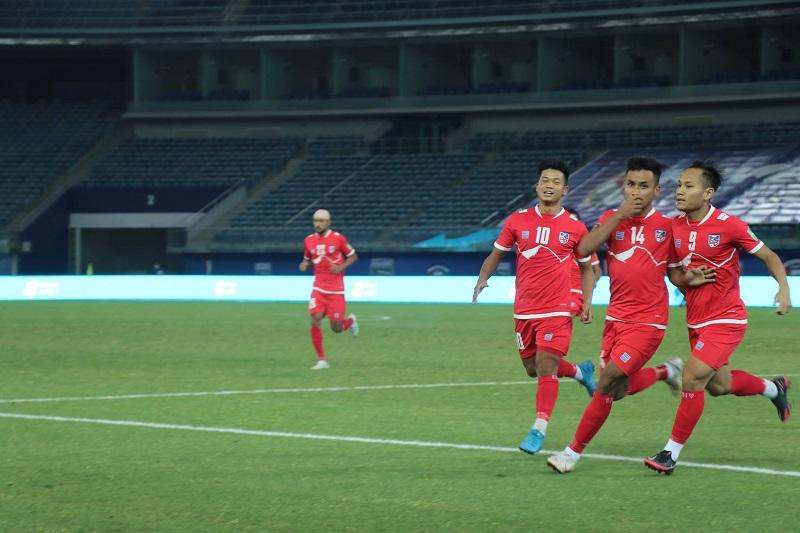 विश्वकप छनोट : नेपालले चाइनिज ताइपेईलाई दुई गोलले हरायो
