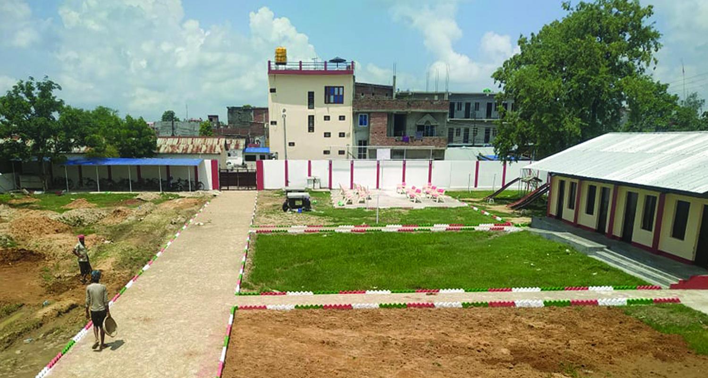 नेपालगन्जमा 'छात्रा कलेज'को भवन निर्माण अन्तिम चरणमा