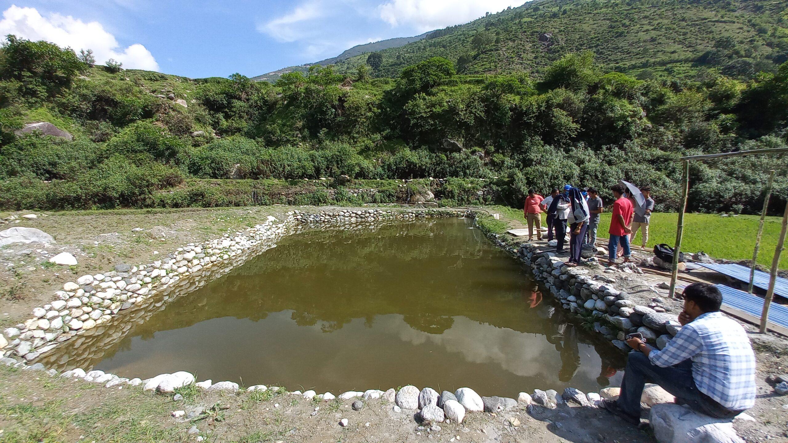 सेतीका माछा जोगाउने अभियानमा पानी परियोजना