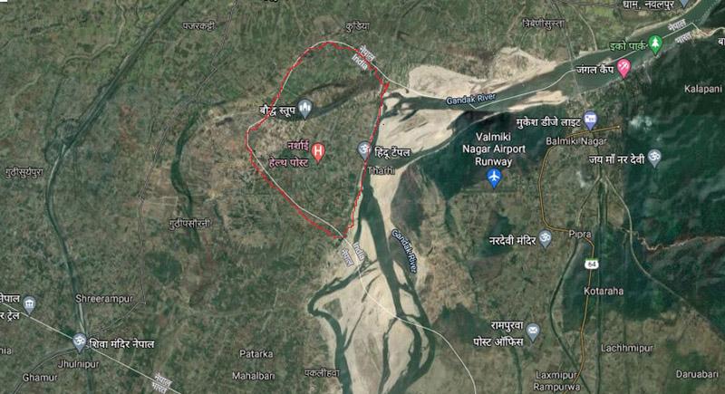 गुगल म्यापले सुस्ता गाउँपालिका भारतमा देखाएपछि मुद्दा हाल्ने तयारी