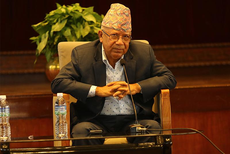 एमाले संसदीय दलको बैठकमा नेपाल पक्ष नजाने