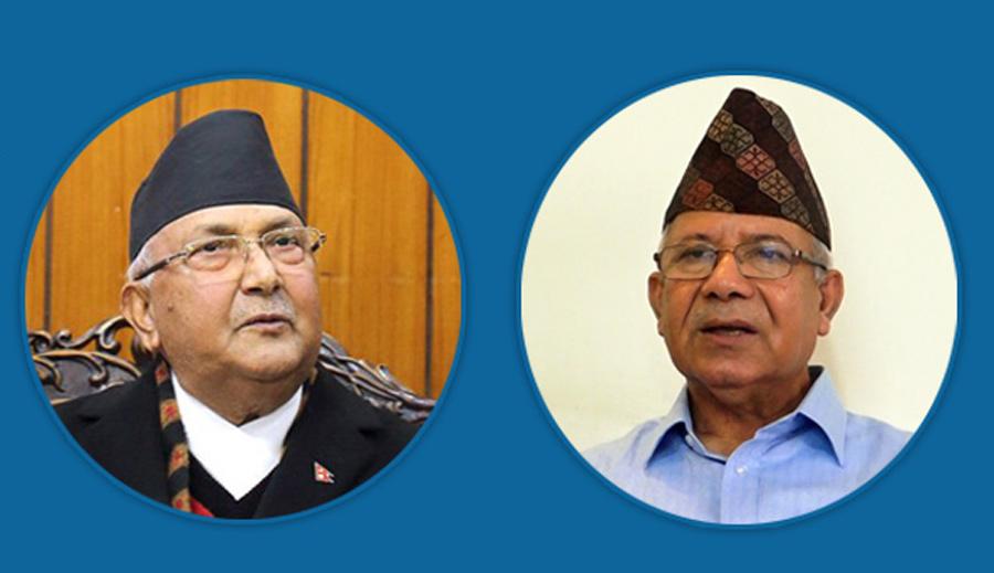 आ–आफ्नै रणनीतिमा ओली–नेपाल, एमाले एकता अन्योलमा