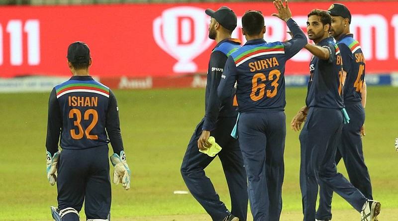 श्रीलङ्कासँगको पहिलो टी–ट्वान्टी क्रिकेटमा भारत विजयी