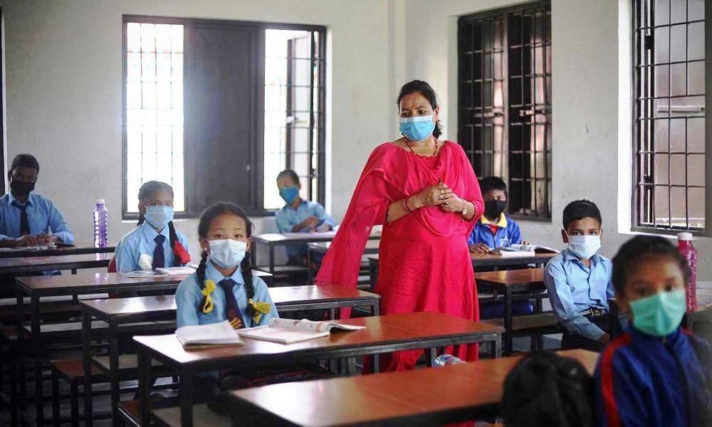 चार महिनापछि खुले नेपालगन्जका विद्यालय