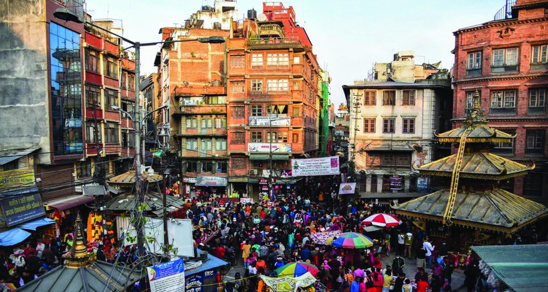 काठमाडौंको असन : 'जहाँ एकादशीको दिन मात्रै लगाइन्छ दसैंको टीका'