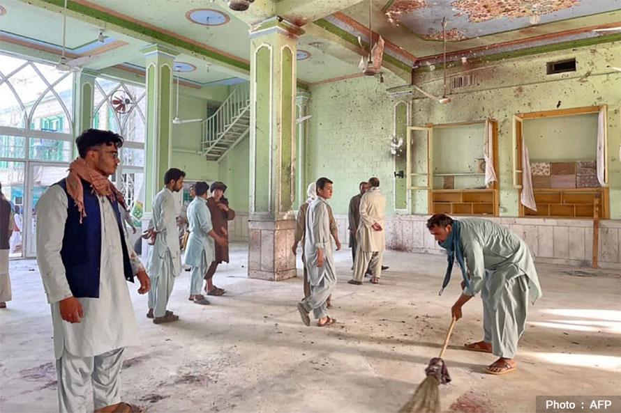 अफगानिस्तानको शिया मस्जिदमा आत्मघाती हमला, ४७ जनाको मृत्यु