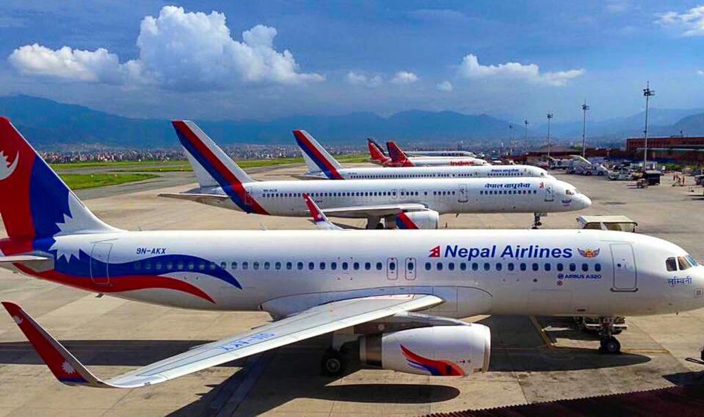 निजी एयरलाइन्सको व्यापारमा नेपाल वायुसेवा निगम रमिते