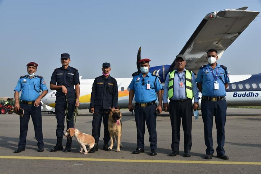 नेपालगन्ज विमानस्थलमा 'कडा सुरक्षा'