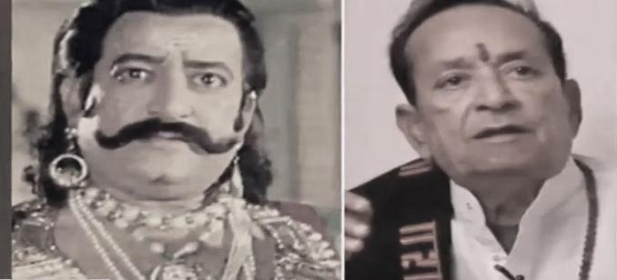'रामायण' मा रावणको भूमिका निभाउने अभिनेता अरविन्द त्रिवेदीको निधन